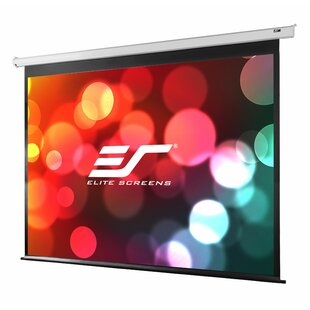 Best Review VMAX2 Series White Electric Projection Screen ByElite Screens