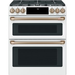 30 Slide-in Gas Range with Griddle By Café™