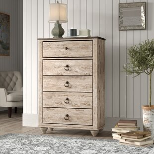 Tavistock 5 Drawer Chest by Three Posts