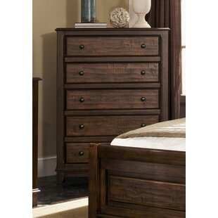 Lando 5 Drawer Chest by Millwood Pines Best