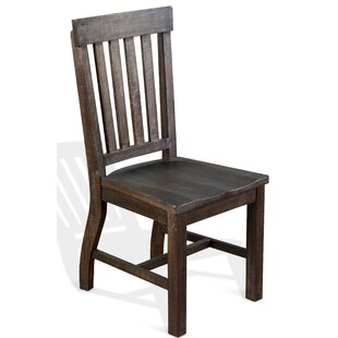 Sebastian 1 Piece Solid Wood Dining Chair Gracie Oaks