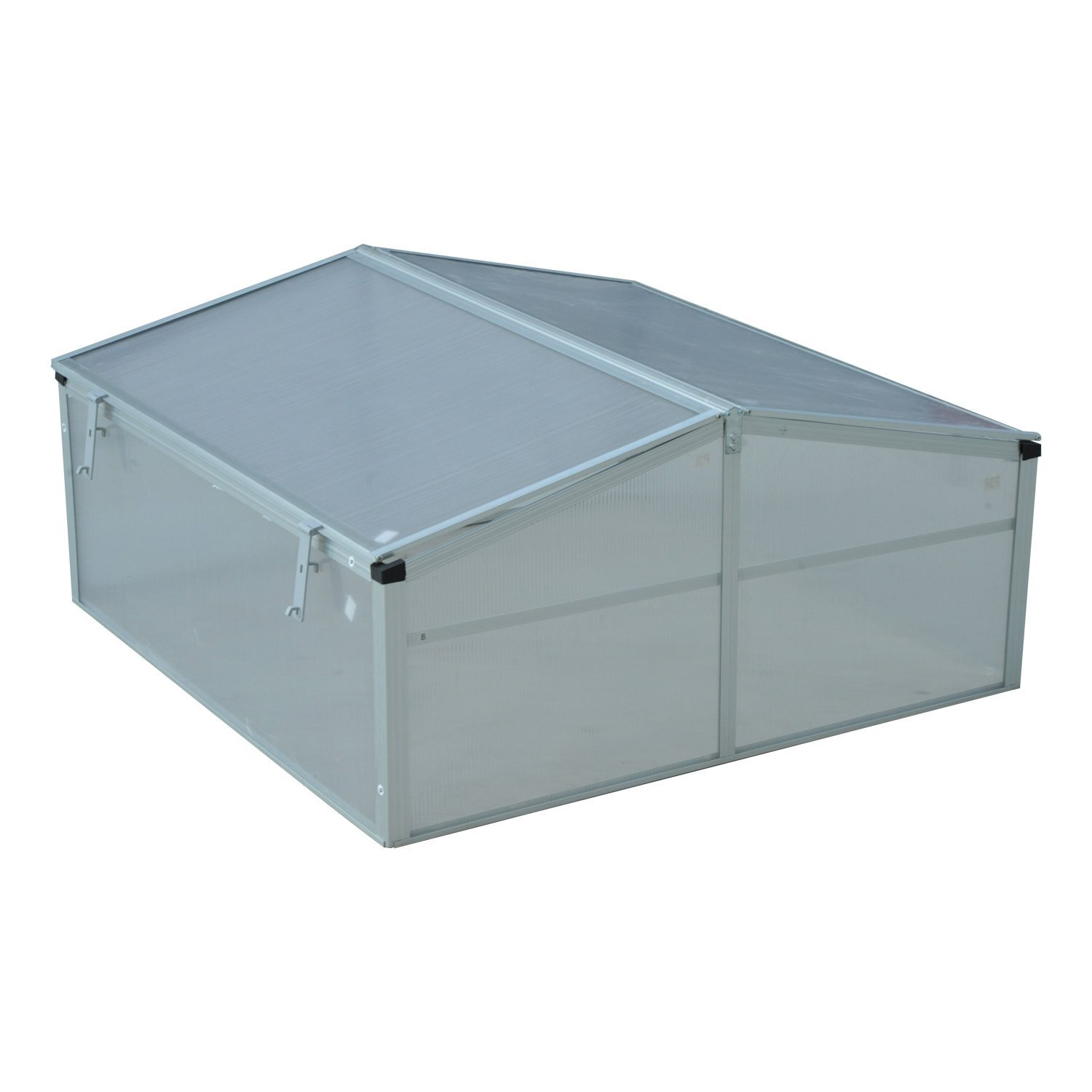 Outsunny 3 Ft W X 3 Ft D Cold Frame Greenhouse Reviews Wayfair
