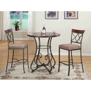 Fleur De Lis Living Lina 3 Piece Pub Table Set