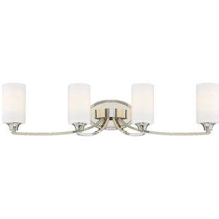 Edgebrooke 4-Light Vanity Light By Latitude Run Wall Lights