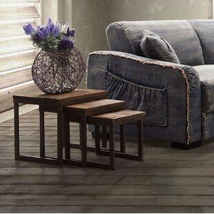 Trent Austin Design Woodlake 3 Piece Nesting Tables