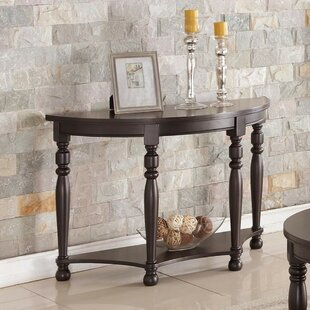 Guide to buy Gladys Wooden Console Table By Fleur De Lis Living