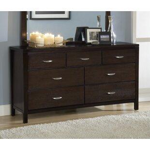 Brayden Studio Desmarais 7 Drawer Dresser