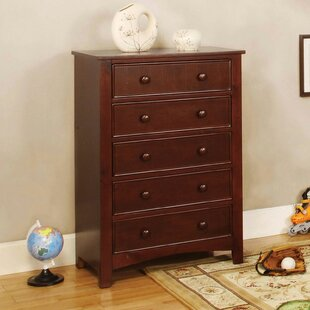 Finkelstein 5 Drawer Chest by Darby Home Co