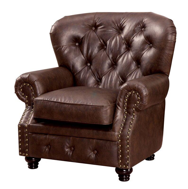 Wonderful Lindstrom Tufted Club Chair