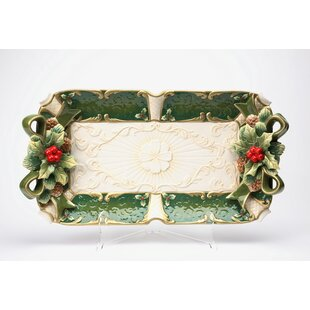 Emerald Holiday Accent Tray