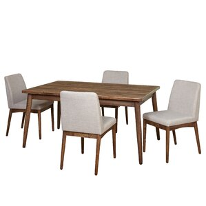 Lydia 5 Piece Dining Set by Langley Street