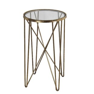 Arnold Metal Round End Table by Mercer41