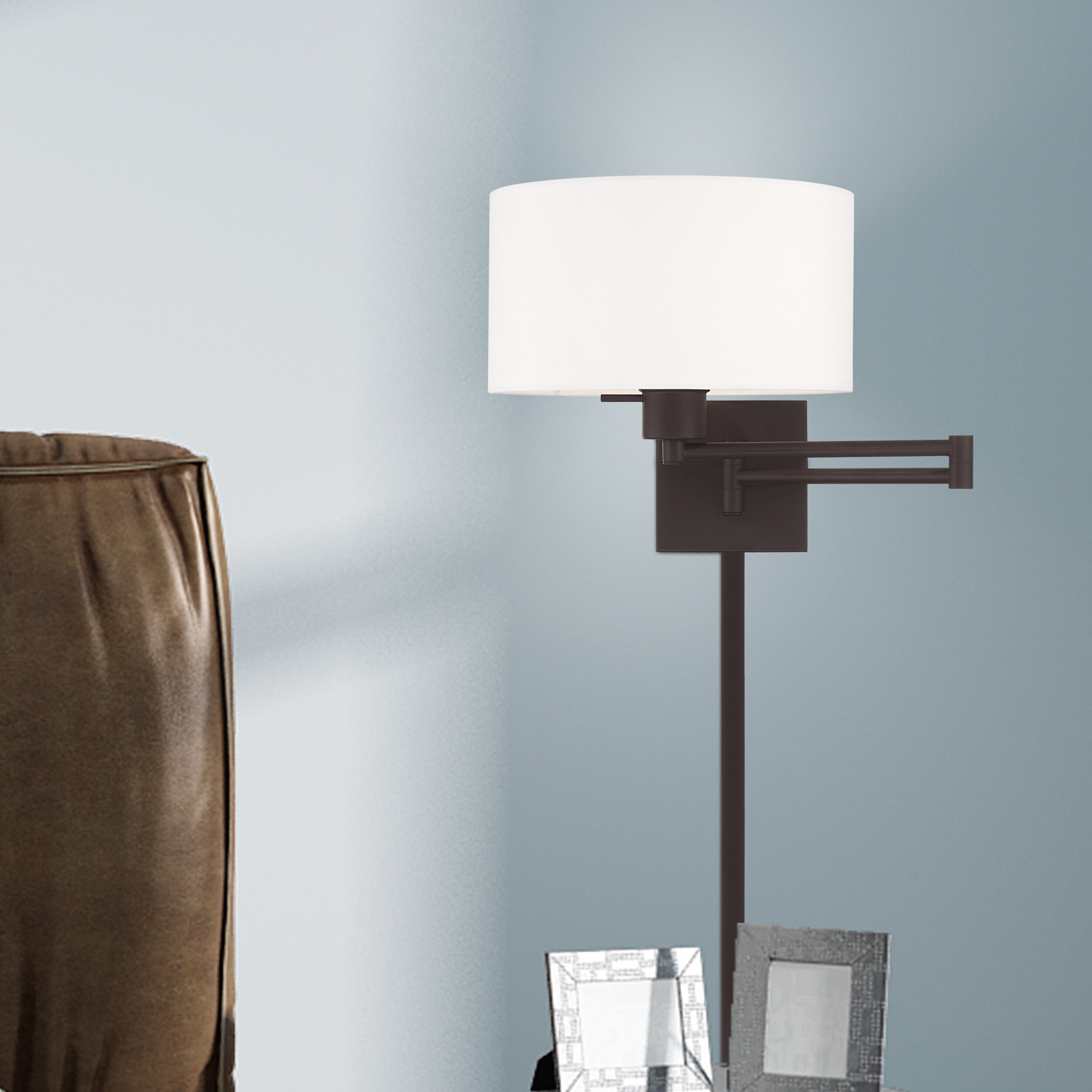 Dimmable Swing Arm Wall Sconces You Ll Love In 2021 Wayfair