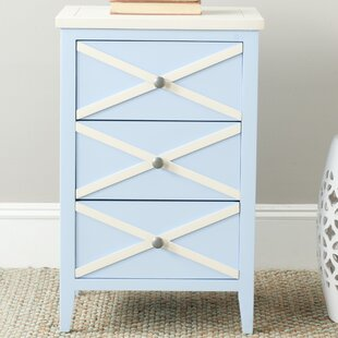 Chereen 3 Drawer End Table by Latitude Run