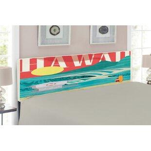 Hawaiian Upholstered Panel Headboard