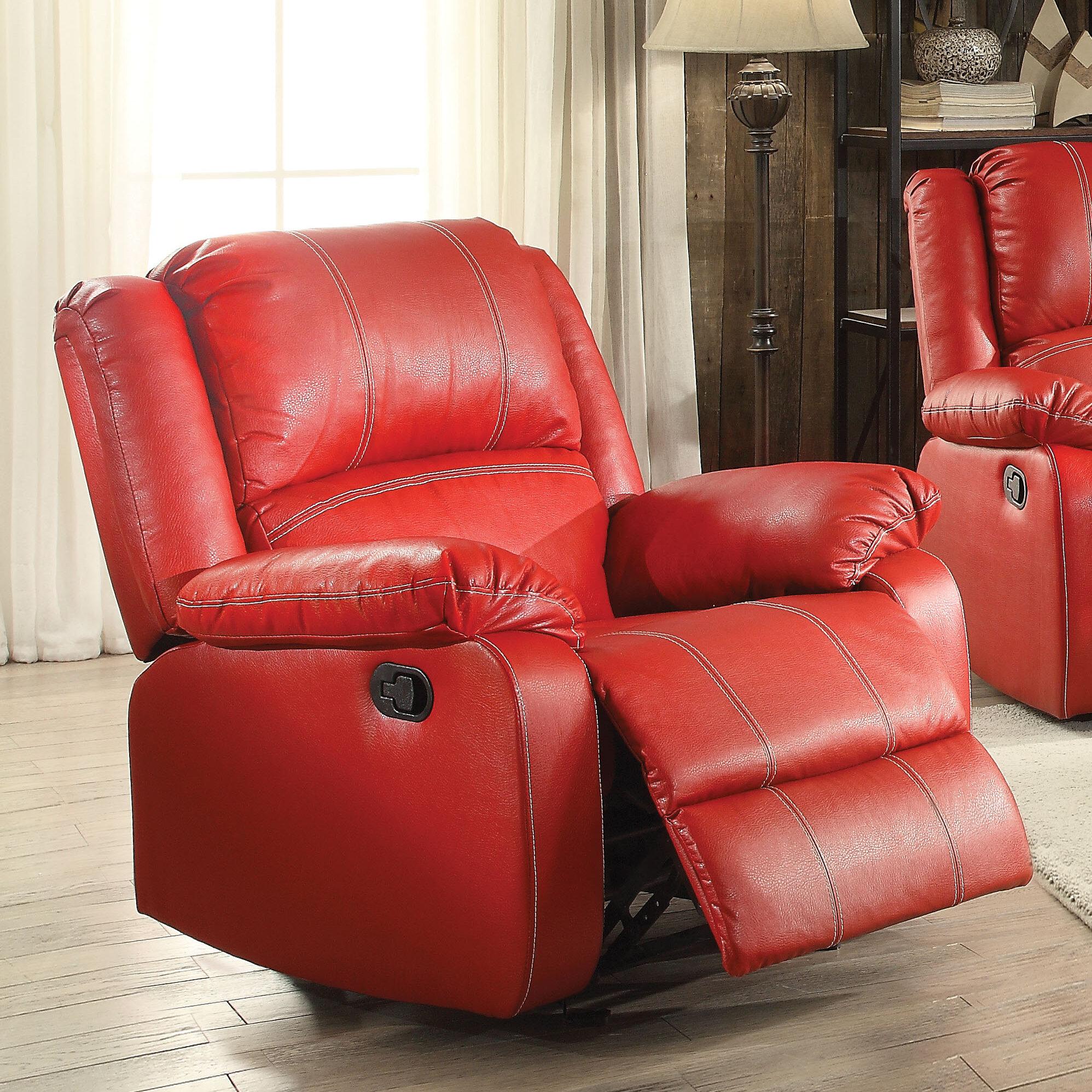 ACME Furniture Zuriel Manual Rocker Recliner & Reviews | Wayfair