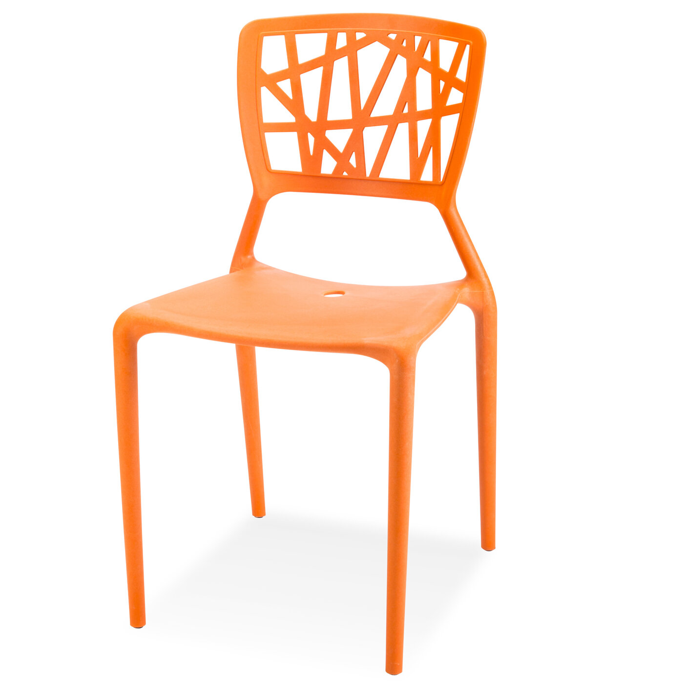 Mendes Stacking Patio Dining Chair