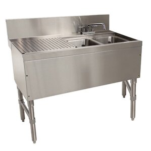 Prestige Series Free Standing Service Utility Sink With Faucet