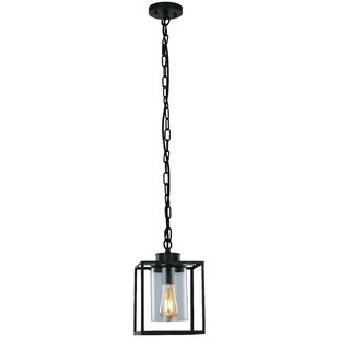 Compare Willets 1-Light Foyer Pendant By Breakwater Bay