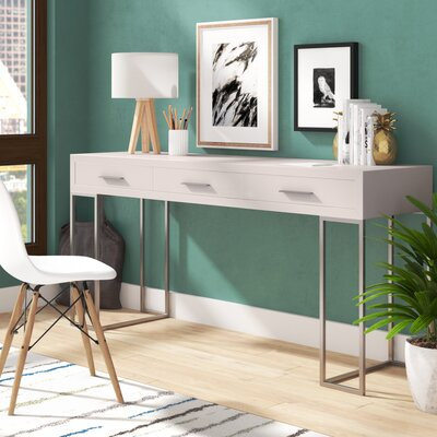 Coldfield Solid Wood Writing Desk Brayden Studio