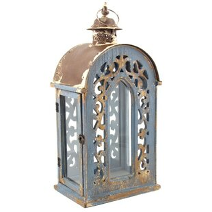 Great choice Wood Lantern By Ophelia & Co.