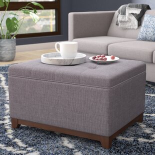 Nunnally Tufted Storage Ottoman by Alcott Hill