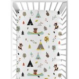 Outdoor Adventure Fitted Crib Sheet