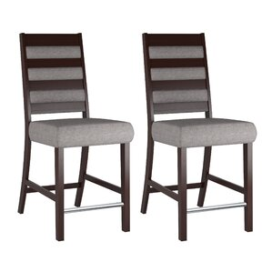 Grayslake Solid Back Dining Chair (Set of..