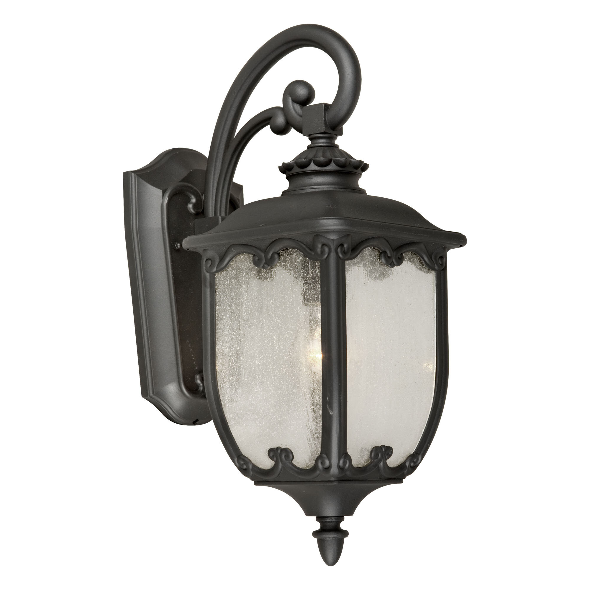 Fleur De Lis Living Romriell 1 Light Outdoor Wall Lantern Wayfair