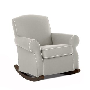 Wayfair Custom Upholstery™ Marlowe Rocking Chair with Contrasting Welt