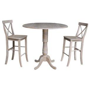 Kimble 3 Piece Pub Table Set