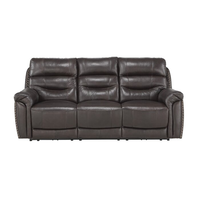 Fantastic Robillard Leather Reclining Sofa Gmtry Best Dining Table And Chair Ideas Images Gmtryco