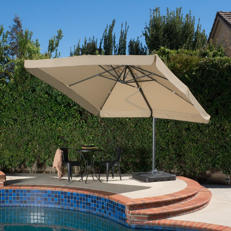 Attrayant For Those Looking For A Nice Deck Umbrella, This Product From Alcott Hill  Is An Intriguing Option. Its 118u201d X 118u201d Coverage Provides More Than Enough  ...