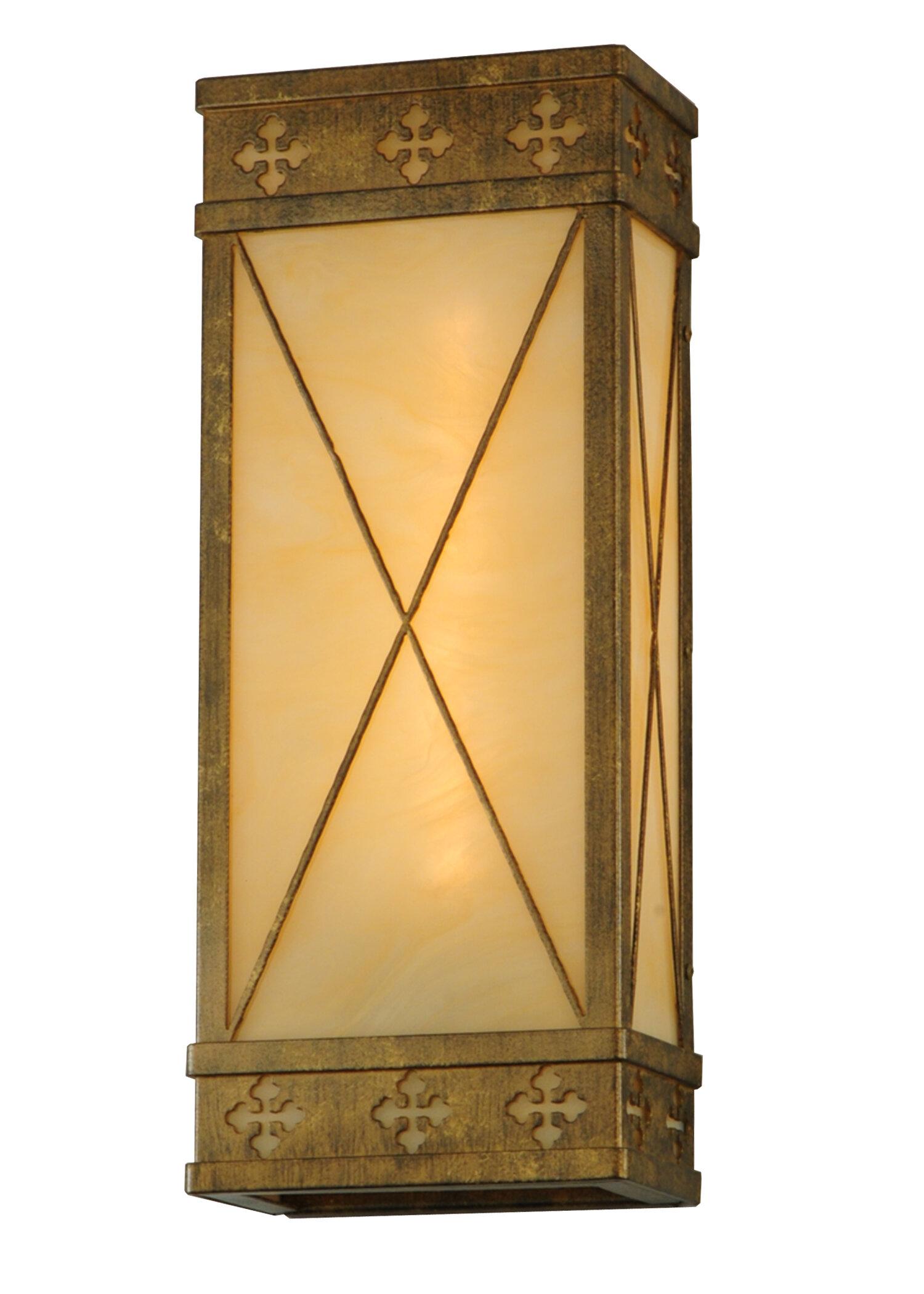 Meyda Tiffany 1 Light Byzantine Wall Sconce Wayfair