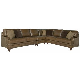 Tarleton Leather Modular Sectional