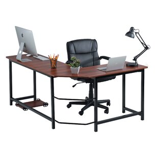 Hansell L-Shaped Computer Desk by Symple Stuff Bargain