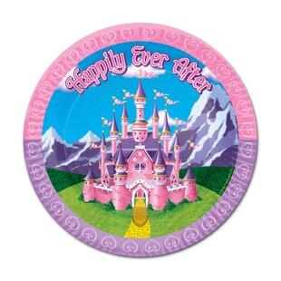 Princess Paper Dessert Plate