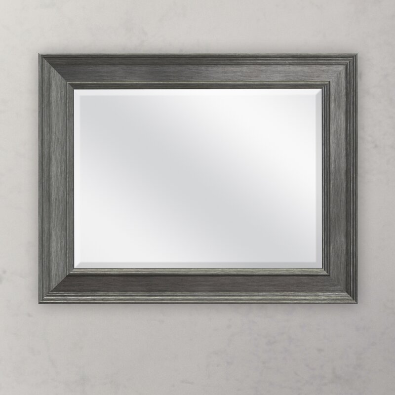 Charlton Home Adhafera Beveled Wall Mirror