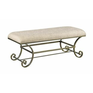 Ainsley Metal Bench by One Allium Way Modern