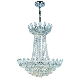 Rosdorf Park Glendora 10-Light Chandelier