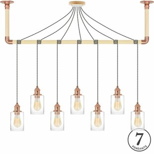 Brayden Studio Collin 7-Light Kitchen Island Pendant