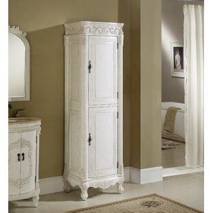 Low priced Alexis 21 W x 73 H Linen Tower By Astoria Grand