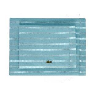Cameo Dot Percale Printed 100% Cotton Striped Sheet Set