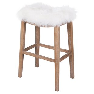Vidal 31 Bar Stool Bungalow Rose
