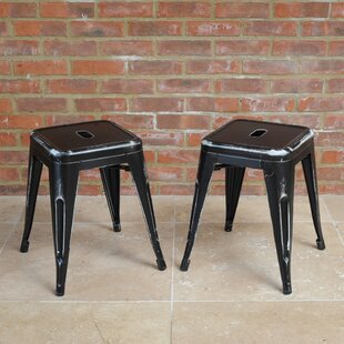 Waldenburg 46cm Bar Stool Set (Set Of 2) By Williston Forge