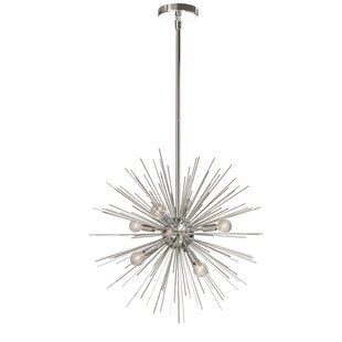 Brayden Studio Cardoso 6-Light Sputnik Chandelier
