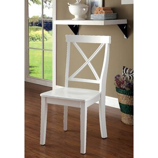 Adamsburg Transitional Side Chair (Set Of 2) by August Grove Great price