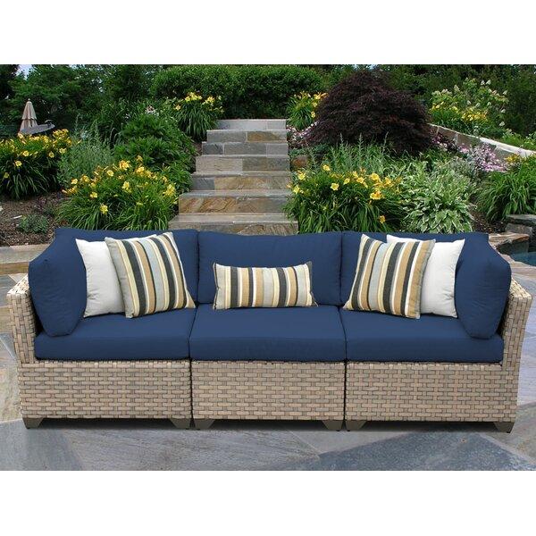 Rochford Patio Sofa with Cushions