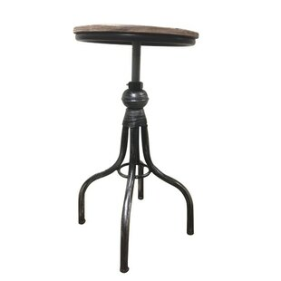 Browder Adjustable Height Swivel Bar Stool (Set of 2)
