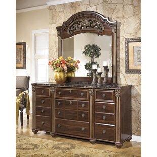 Fredrick 9 Drawer Dresser With Mirror by Astoria Grand